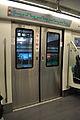 Door of the train of BJS Line 8, 2012.jpg