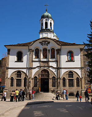 Gabrovo - The Bulgarian National Revival church of Gabrovo, an architectural monument.