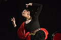 Dorothy Bhattacharya Dancing With Rabindra Sangeet - Sriniketan - Birbhum - 2017-10-21 5145.JPG