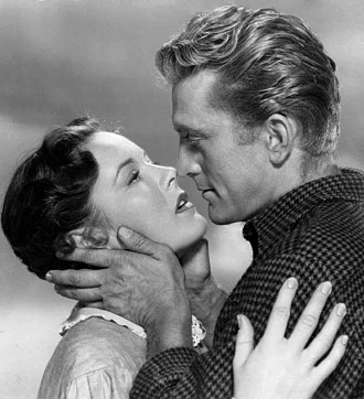Kirk Douglas - With Eve Miller in The Big Trees (1952)