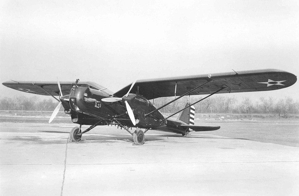 Douglas Y1B-7 on the ground