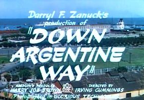 Description de l'image Down Argentine Way trailer.jpg.