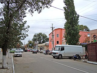 Biliaivka City in Odessa Oblast, Ukraine