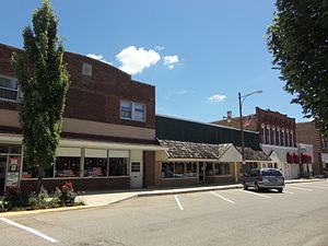 Henry, Illinois - Downtown Henry
