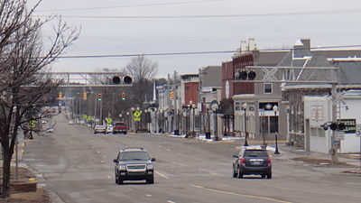 Downtown West Branch.