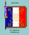 Drap 29e régiment d'infanterie 1848.png