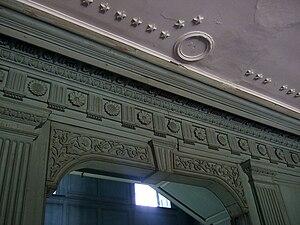 Drayton Hall - Image: Drayton Hall Interior
