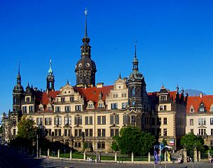 Electorate of Saxony - Dresden Castle