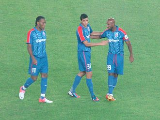 Nicolas Anelka - Anelka played with Giovanni Moreno and his former Chelsea teammate Didier Drogba at Shanghai Shenhua.