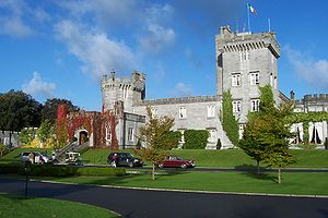 Dromoland Castle - Entrance to Dromoland Castle
