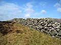 Dry stone wall near Slievenaglogh - geograph.org.uk - 1205513.jpg