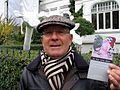 Du bist nicht allein, signalisiert Peter Arndt vom Kunstraum j3fm und macht zugleich auf die Ausstellung von gudrun-sophie frommhage aufmerksam.jpg