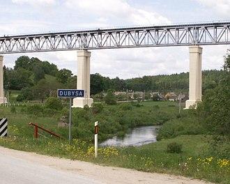 Dubysa - Lyduvėnai bridge across the Dubysa valley