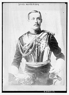 Henry Innes-Ker, 8th Duke of Roxburghe British Duke
