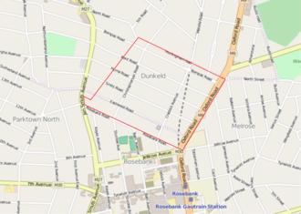 Dunkeld, Gauteng - Suburb of Dunkeld