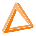 EDUCATE Just the Triangle Transparent.png
