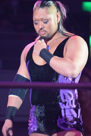 Evil (wrestler) - Watanabe as Evil in February 2016