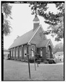 EXTERIOR NORTHEAST - Thomas Presbyterian Church, First Street and Pennsylvania Avenue, Thomas, Jefferson County, AL HABS ALA,37-THOS,2-2.tif