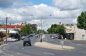 Eaglehawk, Victoria - High St, the main street of Eaglehawk