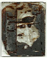 Early ambrotype, restoration step 1 (reverse) (6090397610).jpg