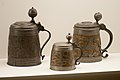Early beer steins (10072121786).jpg