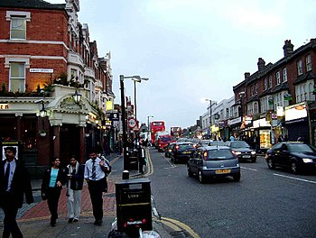 English: East Ham High St. This is a photo of ...