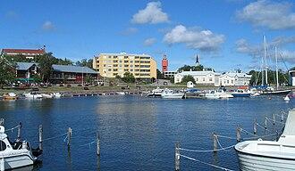 Hanko - Eastern Harbour coastline