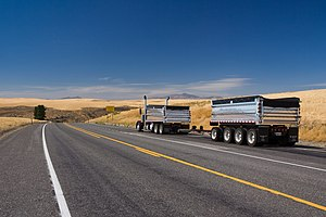 U.S. Route 2 in Washington - Image: Eastern Washington Truck