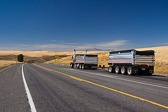 Transportation in the United States - Truck transport in Eastern Washington