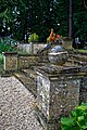 Easton Lodge Gardens, Little Easton, Essex, England ~ Italian Garden steps.jpg