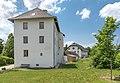 Ebenthal Radsberg 1 Pfarrhof und Radsberg 4 Kulturhaus O-Ansicht 12062019 6754.jpg