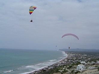 Portoviejo - Image: Ecuador Playa Crucita