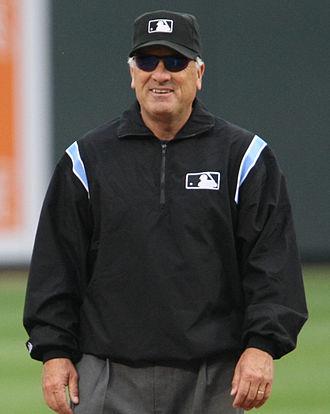 Ed Montague (umpire) - Montague in 2008
