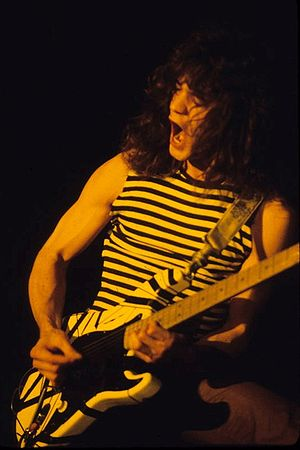 Eddie Van Halen - Van Halen in New Haven, 1978.