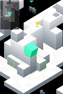 Edge (video game) iPhone screenshot 01.jpg