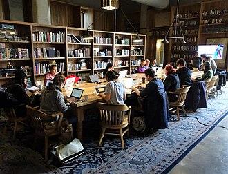 Kickstarter - Kickstarter HQ library, Brooklyn