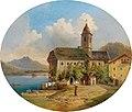 Edmund Mahlknecht - View of St. Wolfgang.jpg