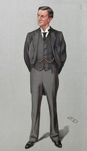 Edward Grey, 1st Viscount Grey of Fallodon - Grey caricatured by Spy for Vanity Fair, 1903