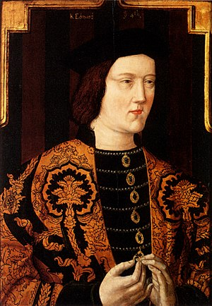 Richard of York, 3rd Duke of York - Image: Edward IV Plantagenet