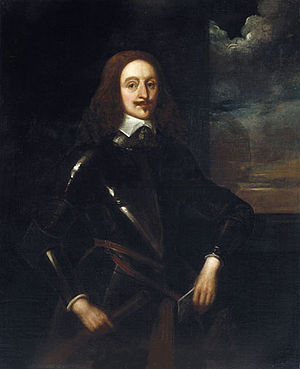 Edward Somerset, 2nd Marquess of Worcester - Portrait by Alexander Craig (1856), after an original by Sir Anthony van Dyck (c.1640) (oil on canvas)