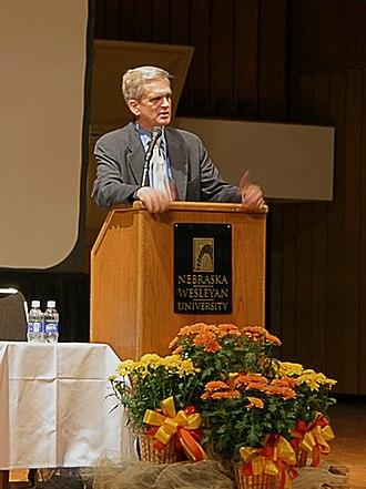 Edward S. Walker Jr. - Edward S. Walker, Jr. on 14 September 2006 during his speech at Nebraska Wesleyan University's Visions and Ventures event