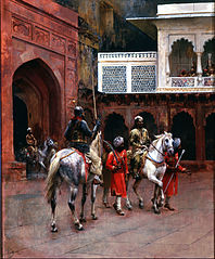 Indian Prince, Palace of Agra