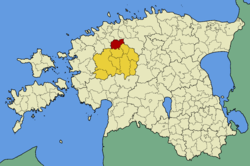 Kohila Parish within Rapla County.