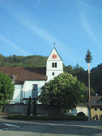 Egerkingen - Egerkingen church