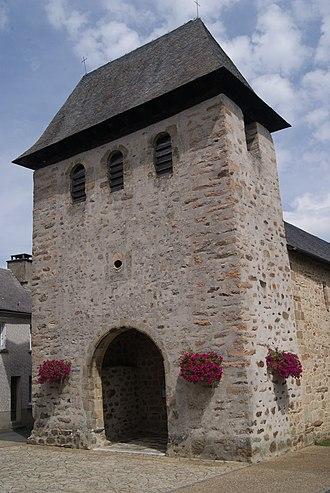 Albussac - The church in Albussac