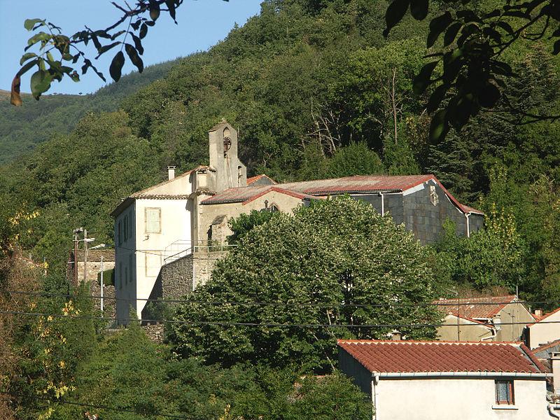 Castanet-le-Haut (Hérault) - Église Notre-Dame de Castanet-le-Haut.