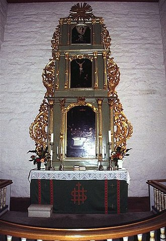 Eidsvoll Church - Church Altarpiece