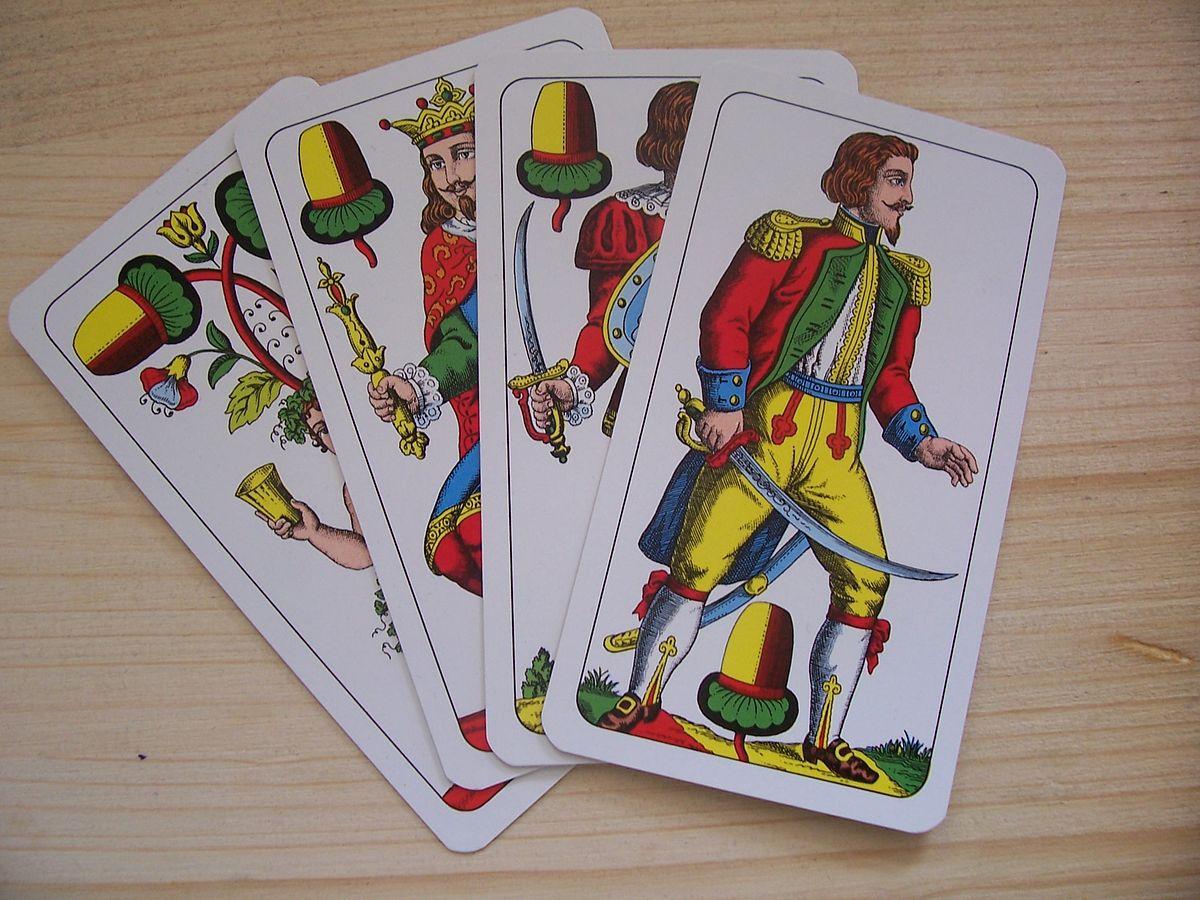 Farbe Im Dt. Kartenspiel
