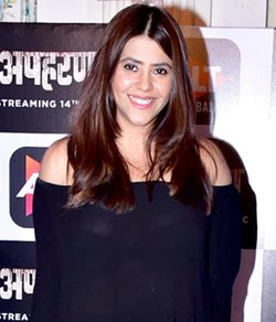 Ekta-Kapoor-graces-the-trailer-launch-if-Alt-Balajis-Apaharan (cropped).jpg