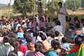 Ekta Parishad meeting, Chhattisgarh, India, November 2005.jpg